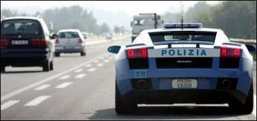 Pic of Lamborghini Gallardo patrol car -- NYTimes