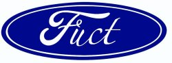 Parody of Ford logo